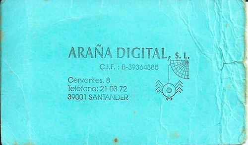 araña digital